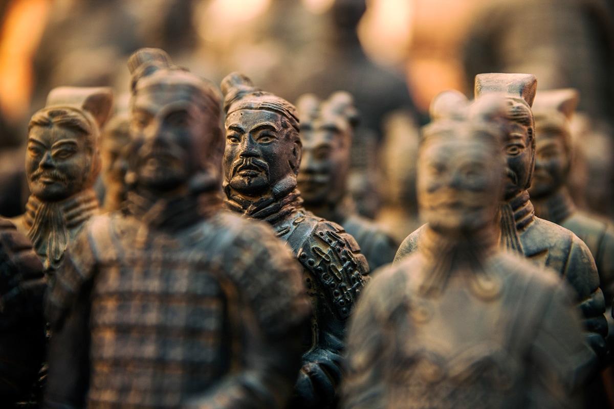 L'armée de terre cuite, Xi'An