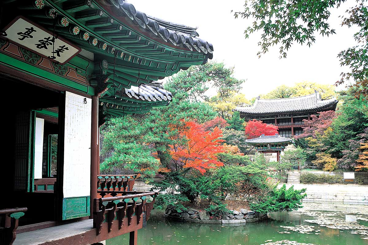 Palais Changdeokgung, Séoul