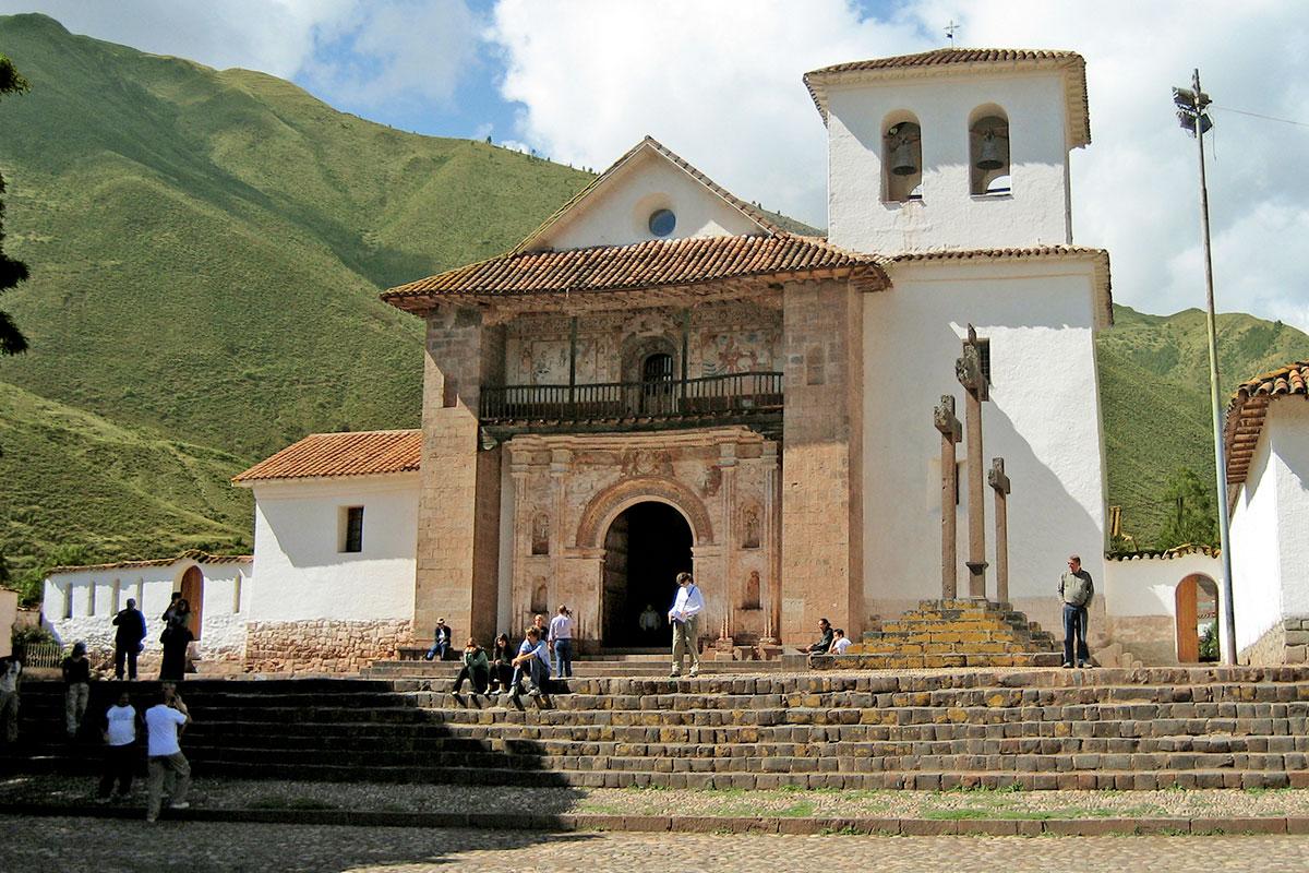 L'église coloniale Andahuaylillas