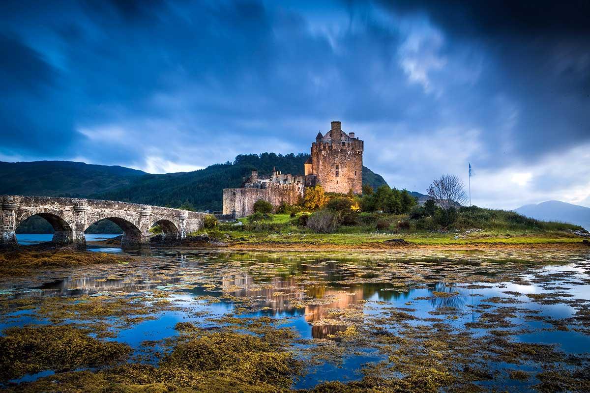 autotour fantômes, châteaux et lochs