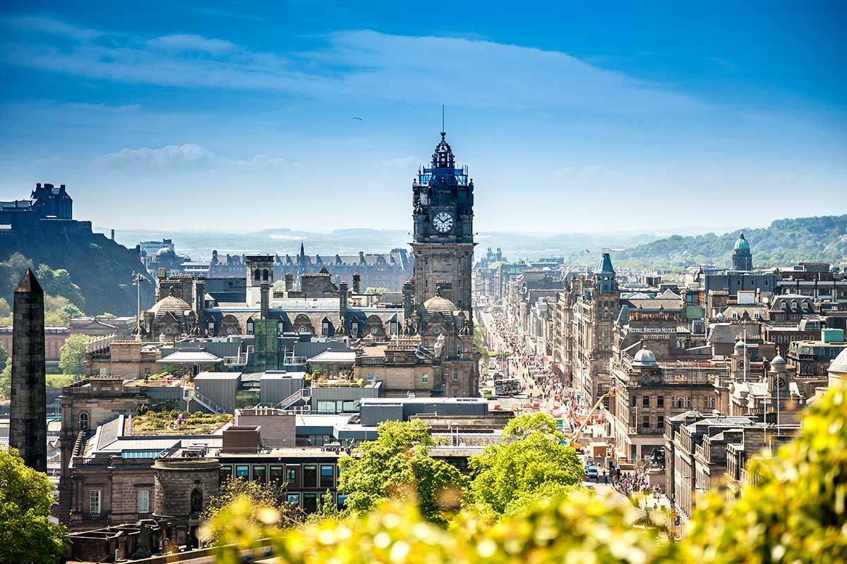 Grande-Bretagne - Ecosse - Edimbourg - Royaume Uni - Circuit Kilts et Cornemuses