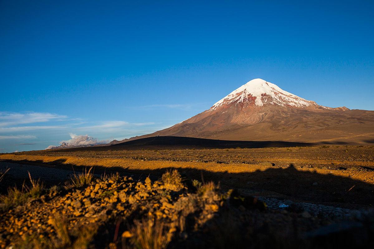 Volcan El Chimborazo