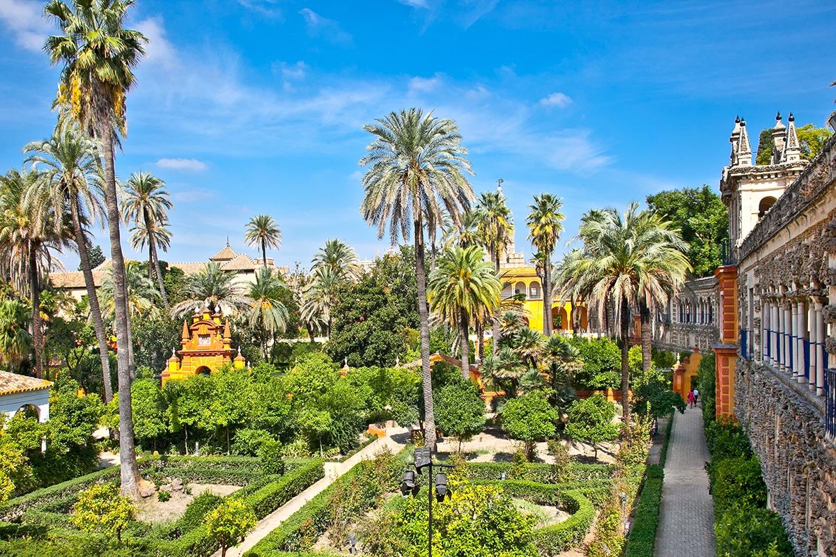 Les jardins de l''Alcazar, Séville