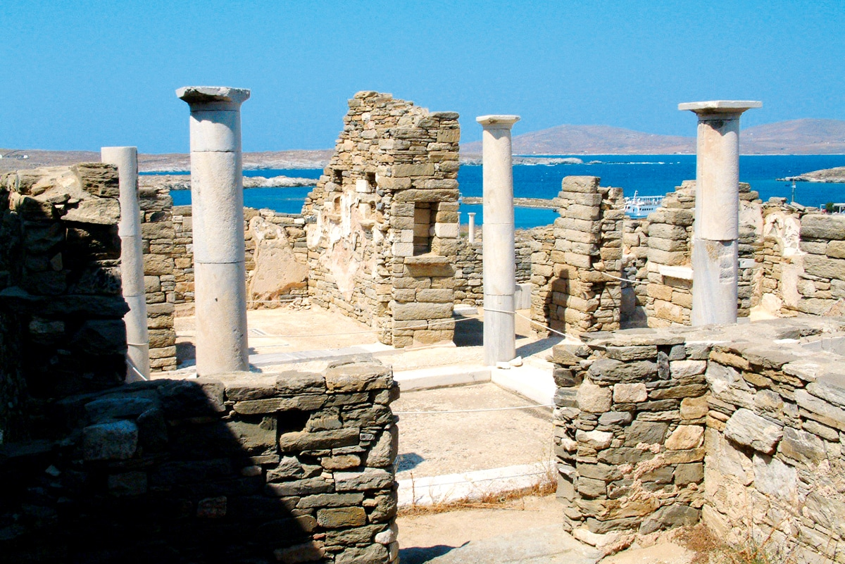 circuit odyssee cyclades circuit grece avec voyages auchan