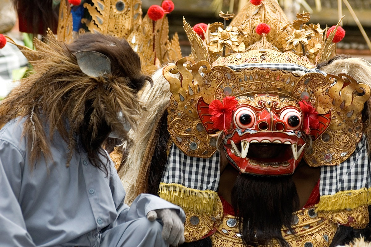 """Spectacle de """"barong"""""""