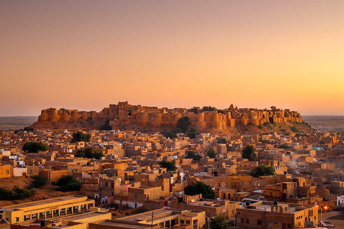 La ville fortifiée de Jaisalmer