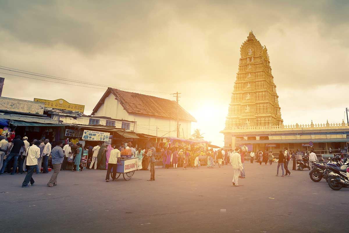 Temple de Chamundeshwari, Mysore