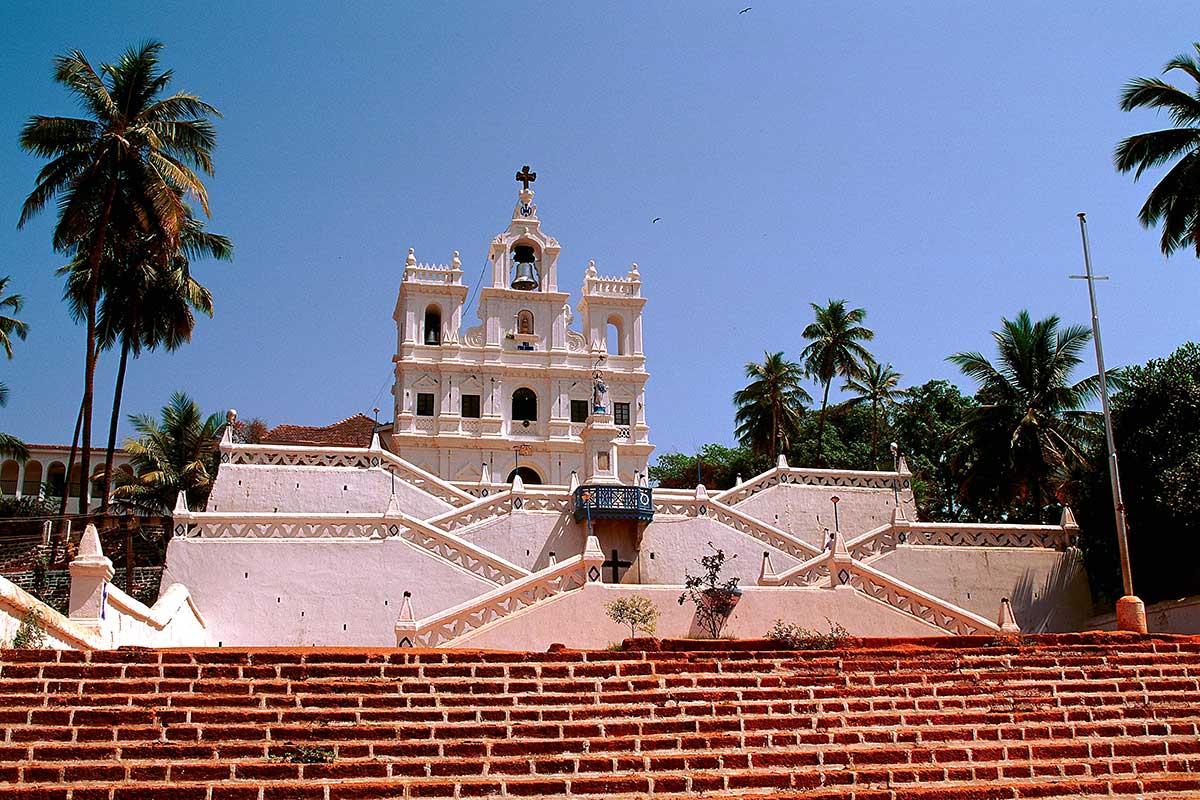 Église à Goa
