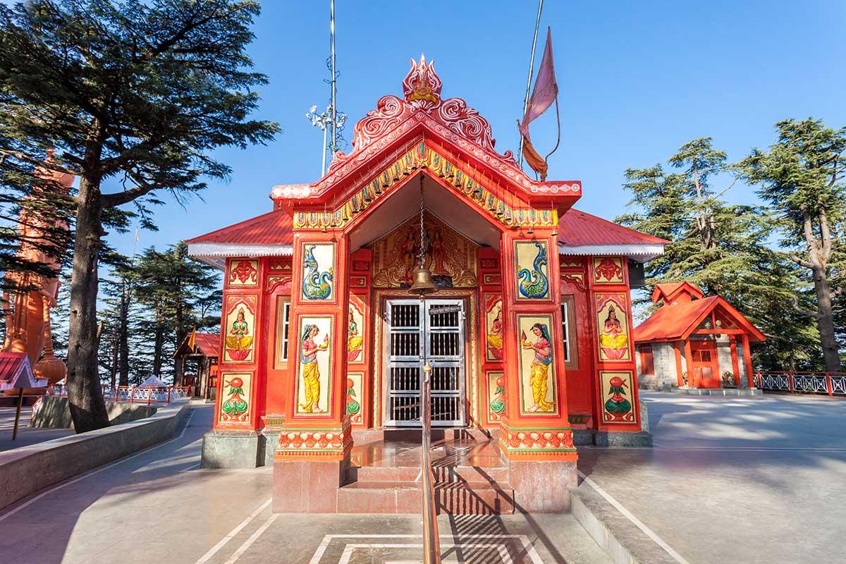 Temple de Jakhu, Shimla