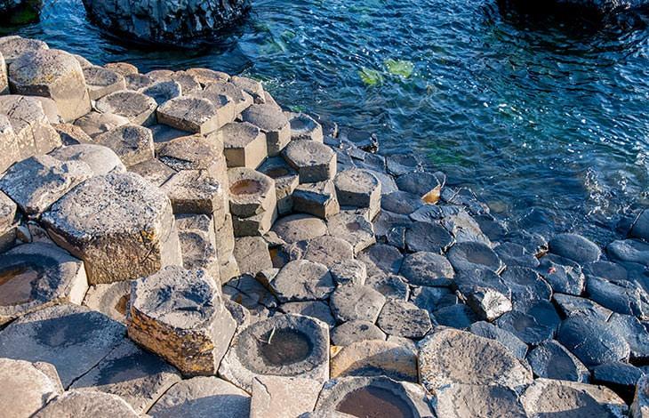 Chaussée des géants, formation géologique en Irlande du Nord