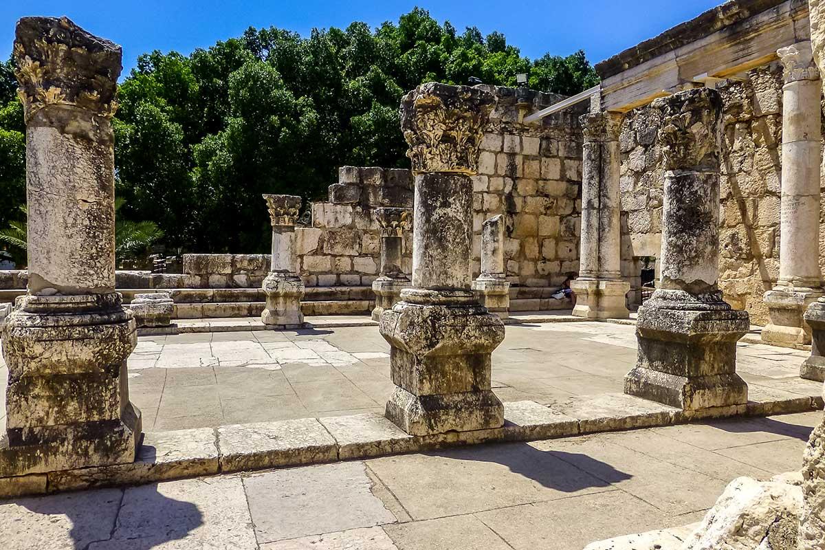 Vestiges archéologiques de Capharnaüm