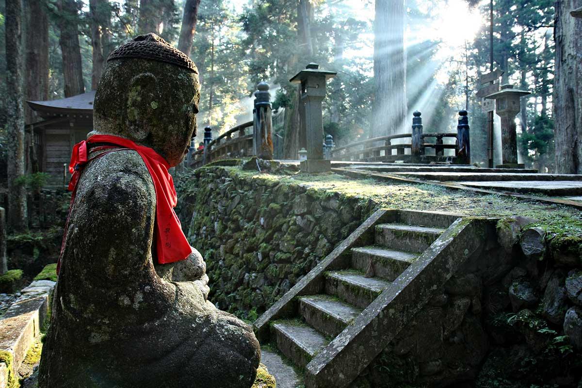 L'immense cimetière du Mont Koya