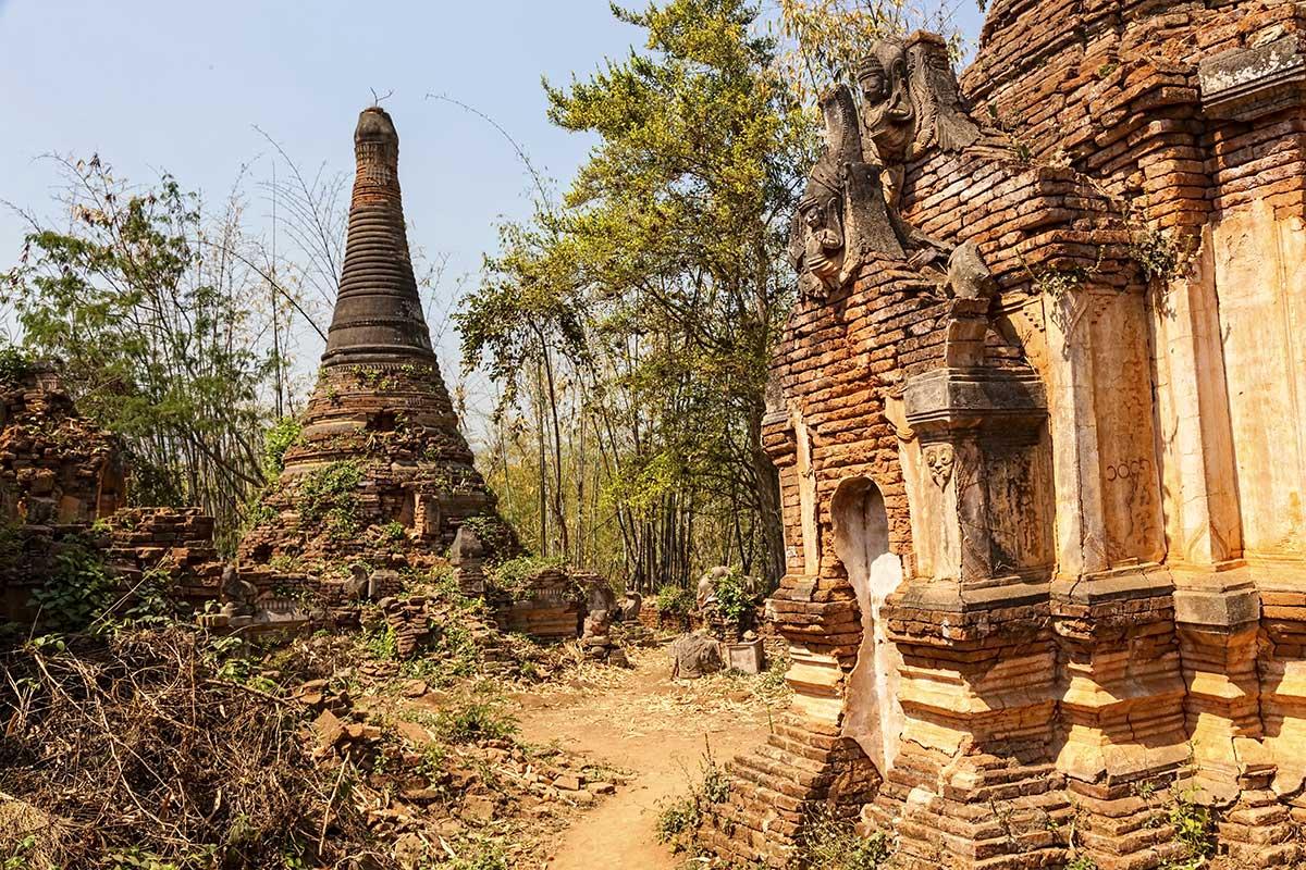 Les ruines d'Indein