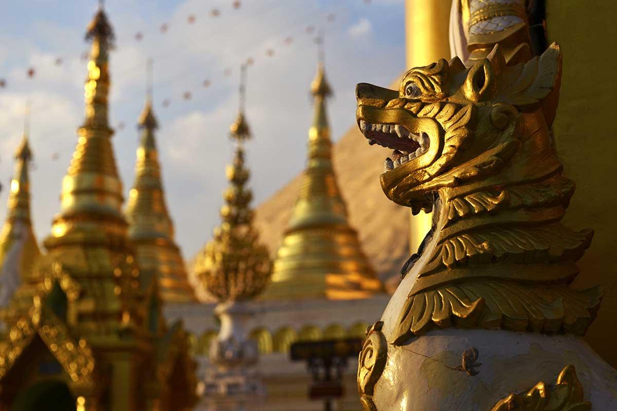 Pagode Shwedagon, Yangon
