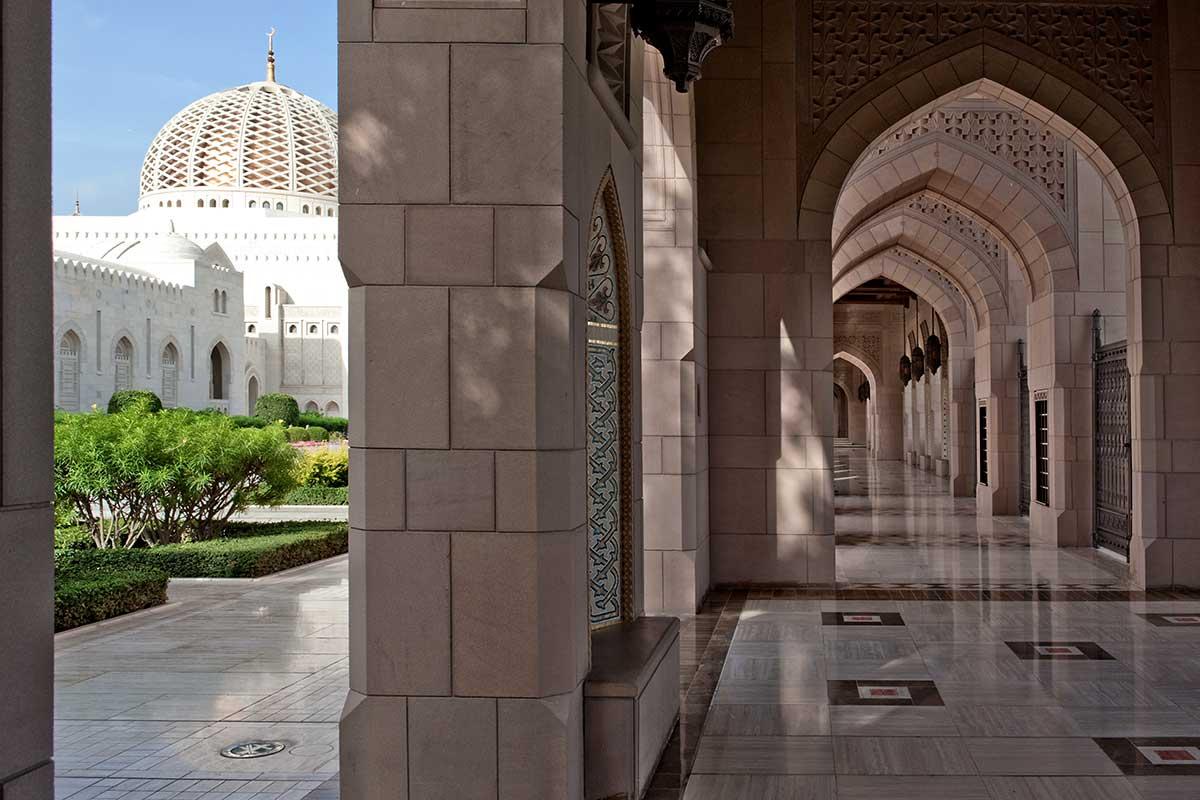 Grande mosquée du Sultan Qabous