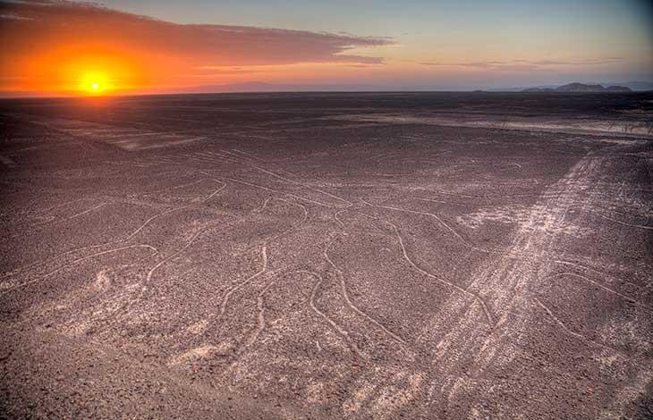 Les fameuses figures de Nazca