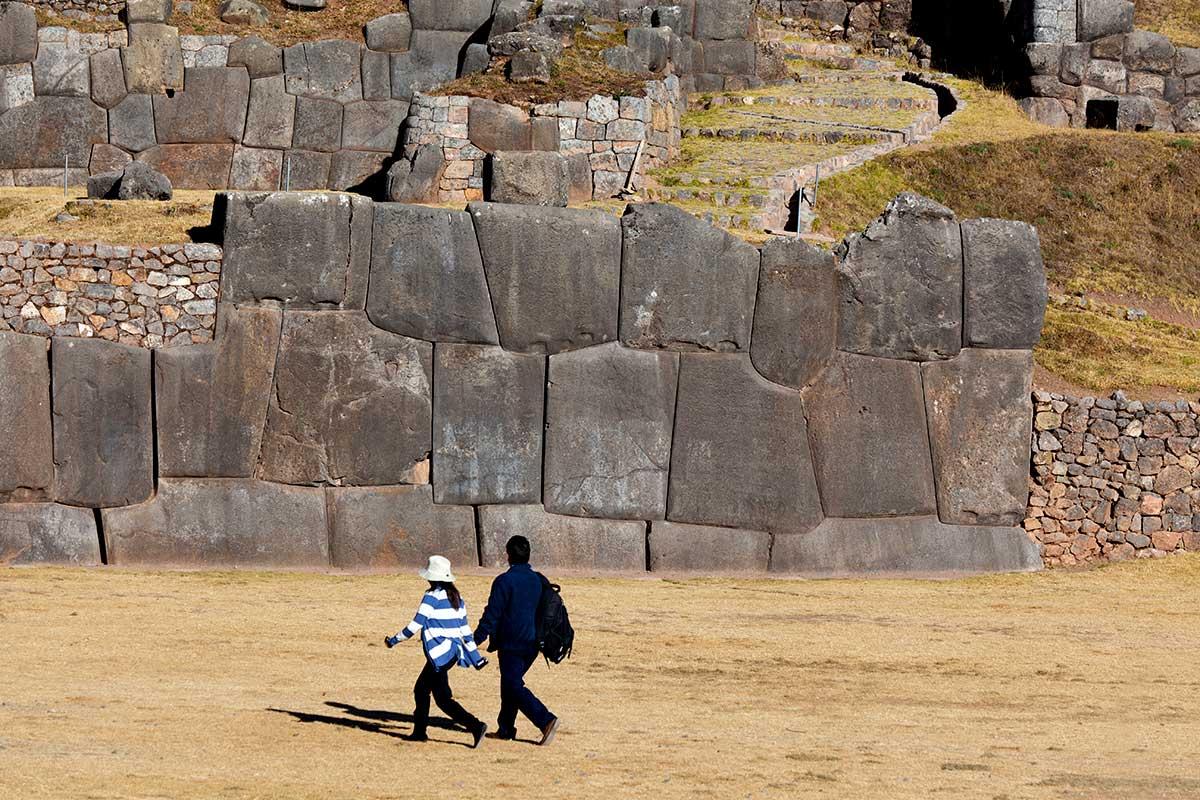 Vestiges incas de Saqsayhuamán