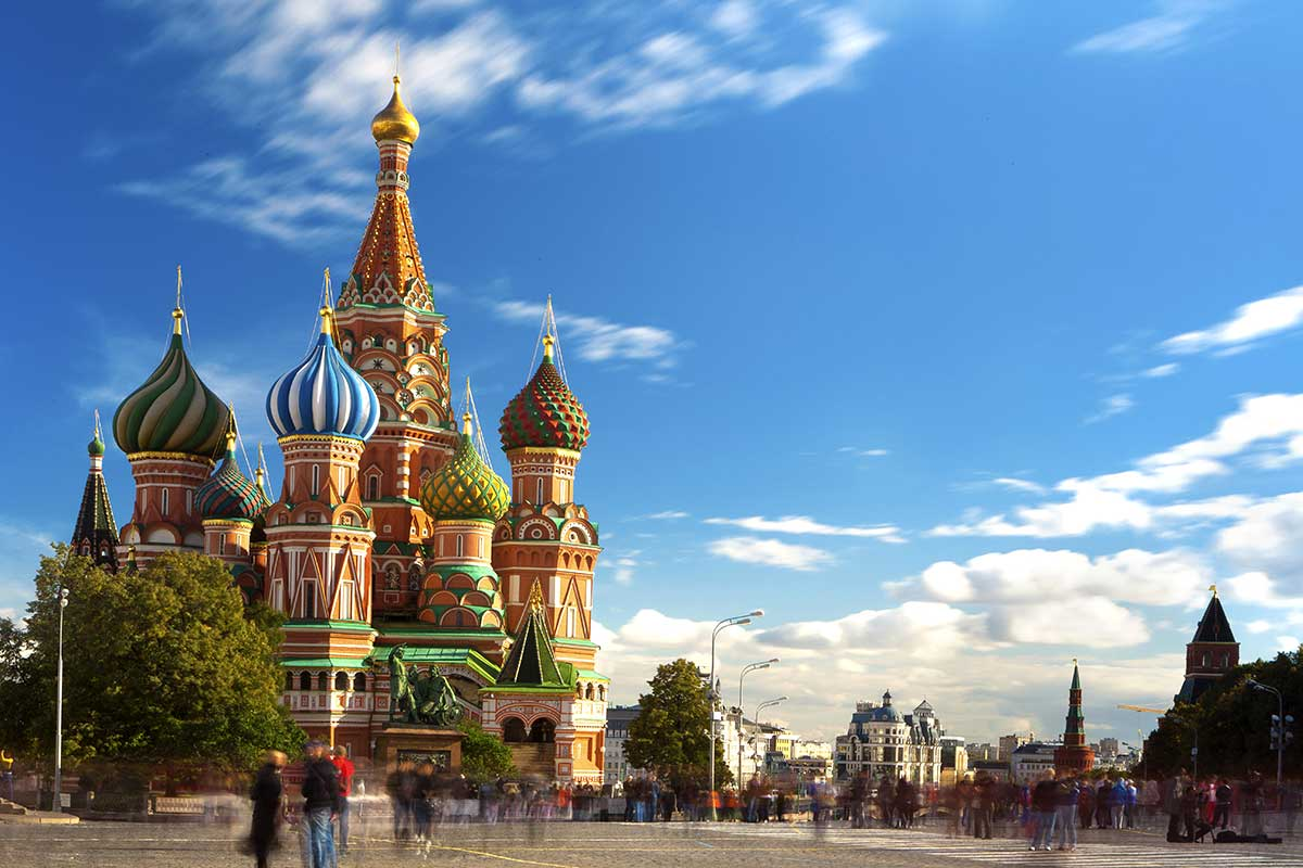 Escapades en Russie - Week-end à Moscou
