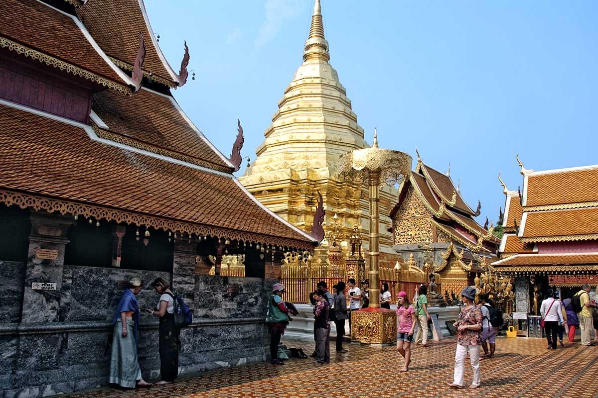 Temple Phrathat Doi Suthep
