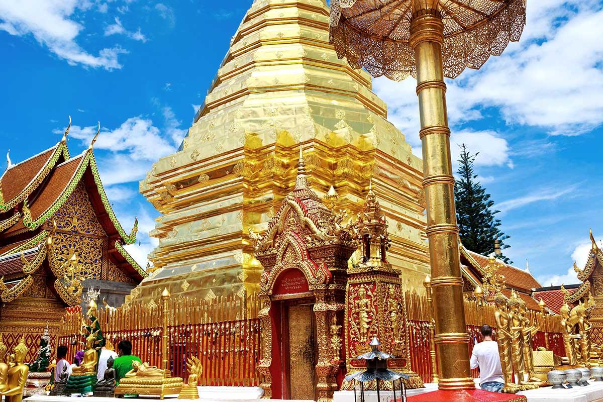 Temple Wat Phrathat Doi Suthep, Province de Chiang Mai