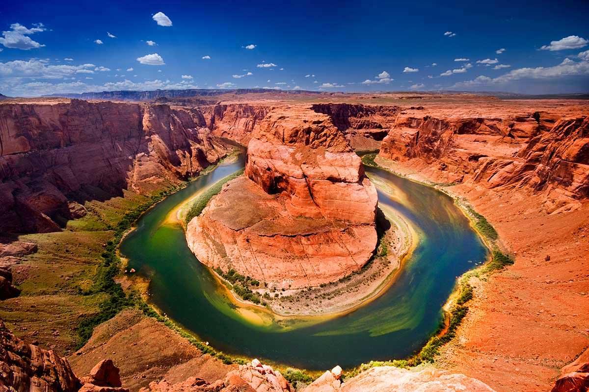 Vue incomparable sur le Parc National de Canyonlands