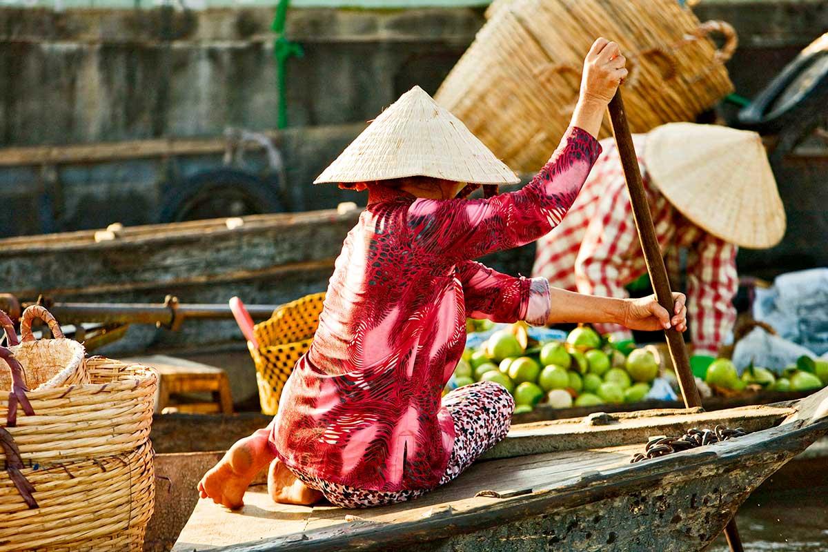 Cambodge - Vietnam - Circuit de la Baie d'Along aux Temples d'Angkor